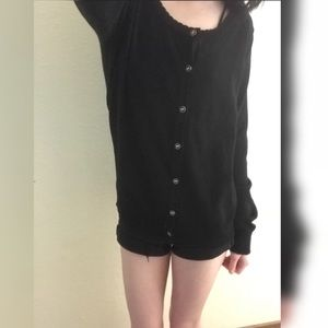 adorable forever 21 sweater + detailed buttons